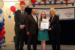 BOCES student receives community service award