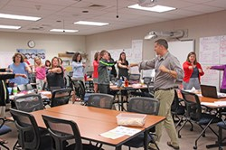 Teachers hone skills in summer school