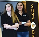 P-TECH 9 students present at SUNY Broome