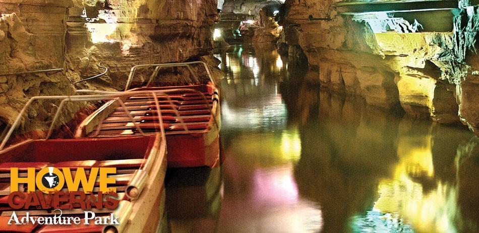 Howe Caverns boats