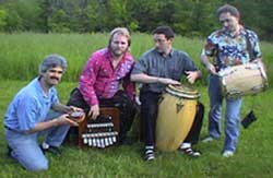 Jorge with musicians