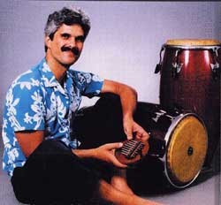Jorge with instruments