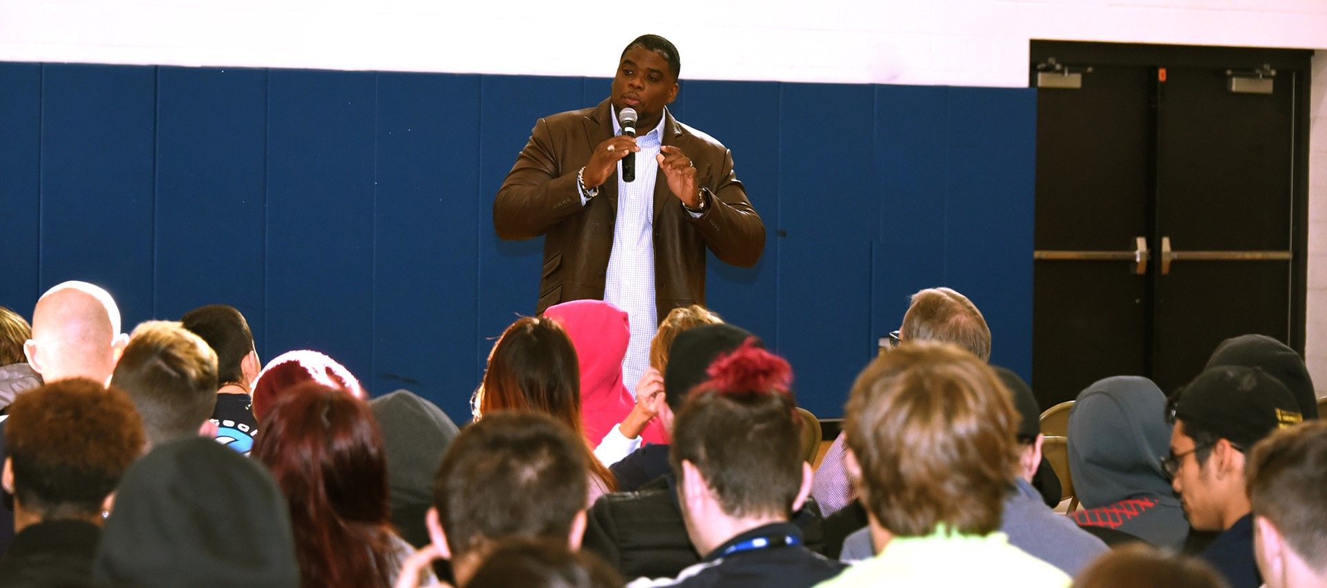 Acclaimed author, speaker brings inspirational message to BOCES