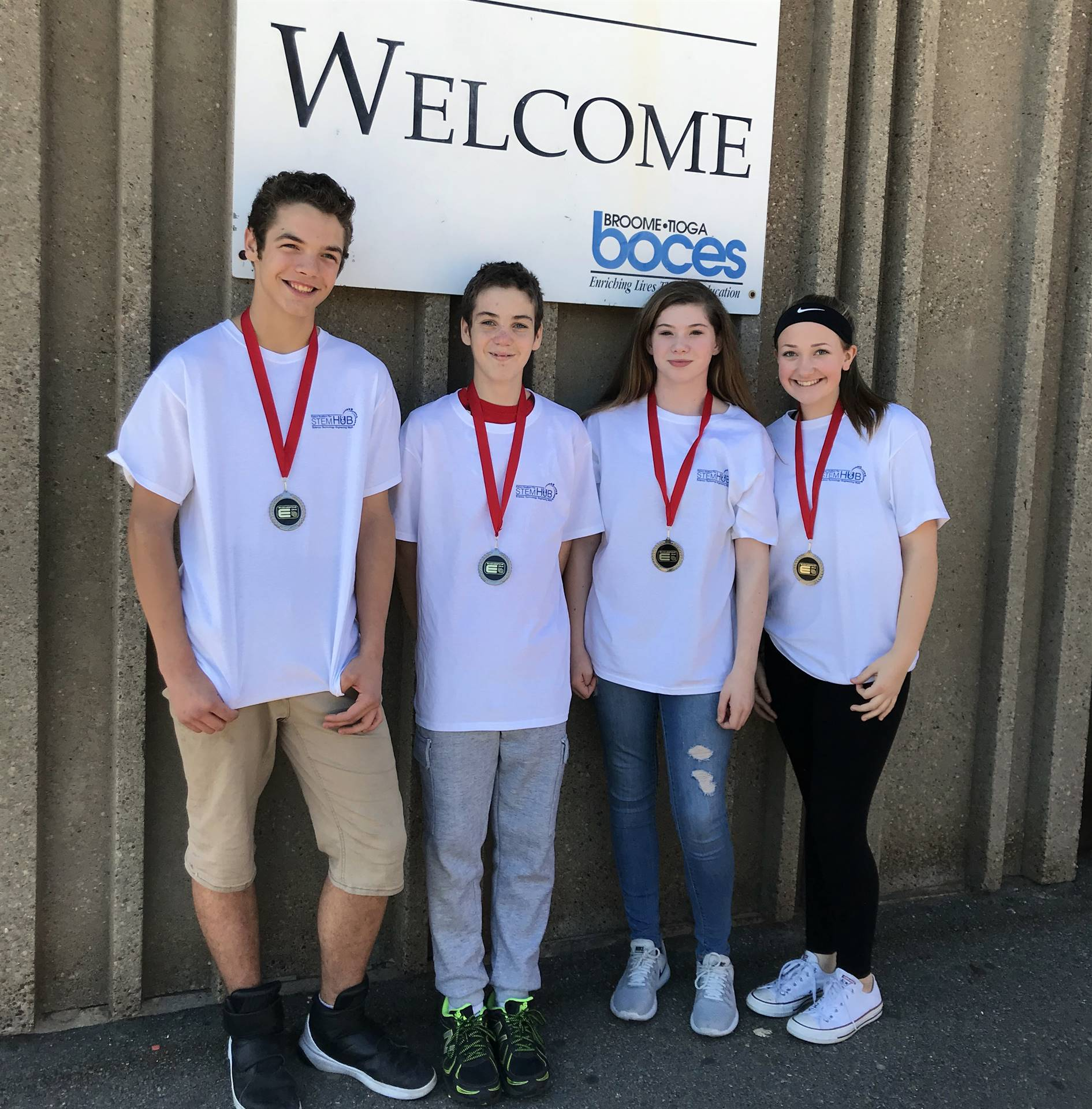 P-TECH 9 team takes second place at Engineering Day