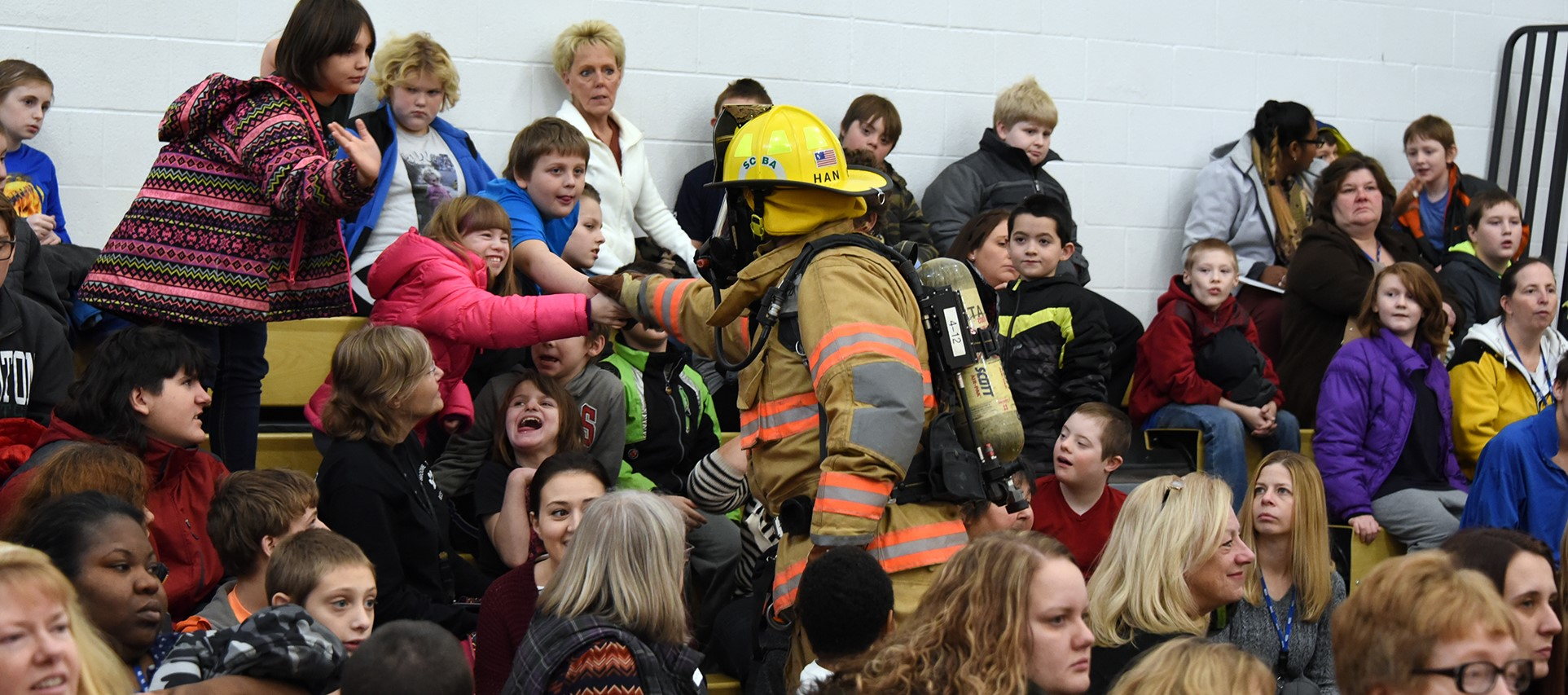 Vestal Fire Department brings safety program to BOCES special ed