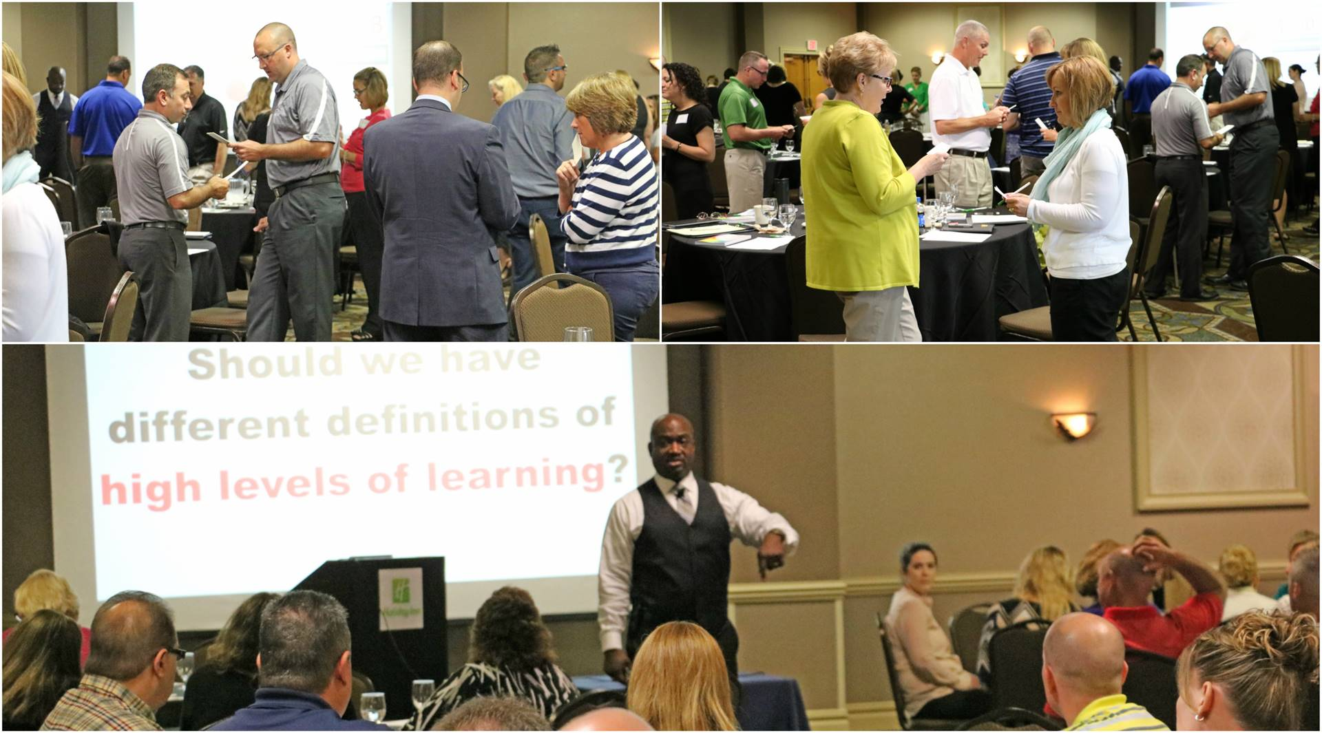 Regional Administrators at Leadership Event with Kenneth W. Williams_June 2016