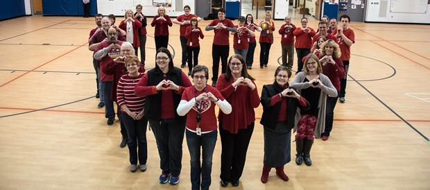 Celebrating heart health month