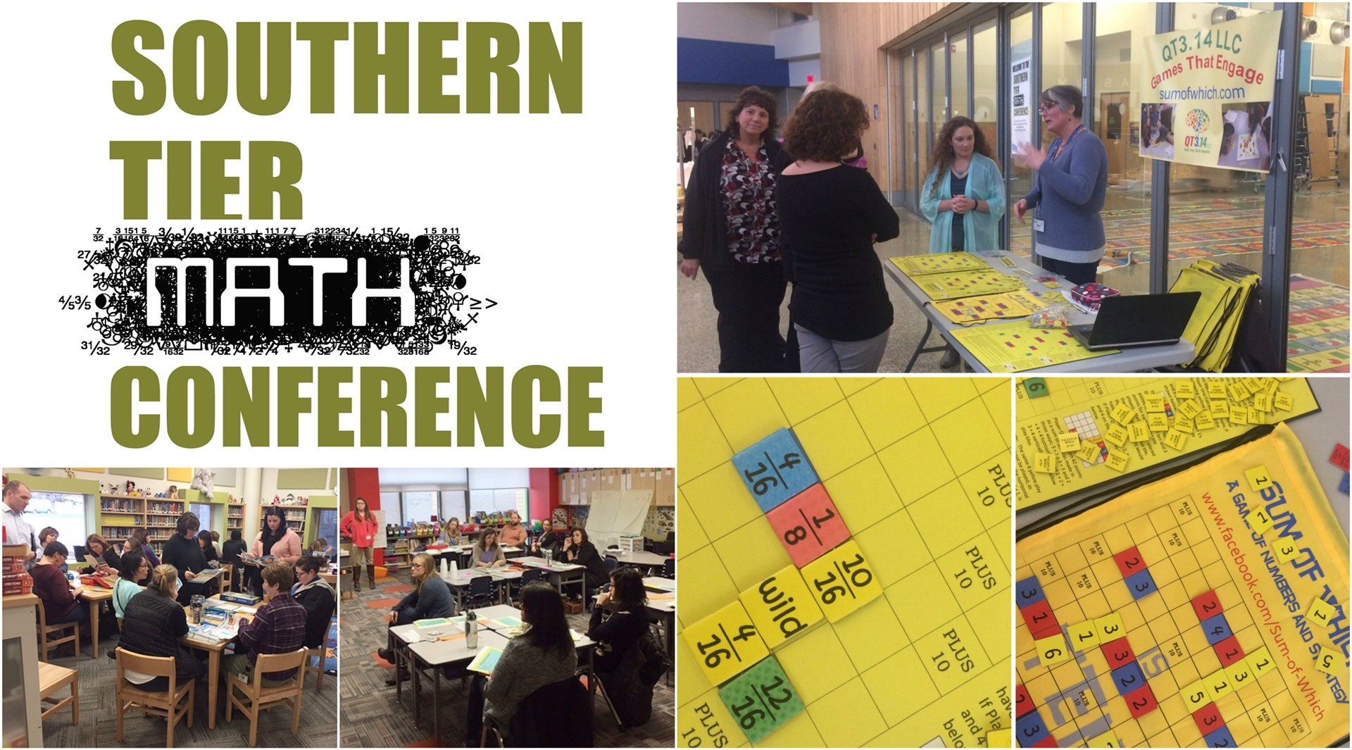 2017 Southern Tier Math Conference Participant Photos