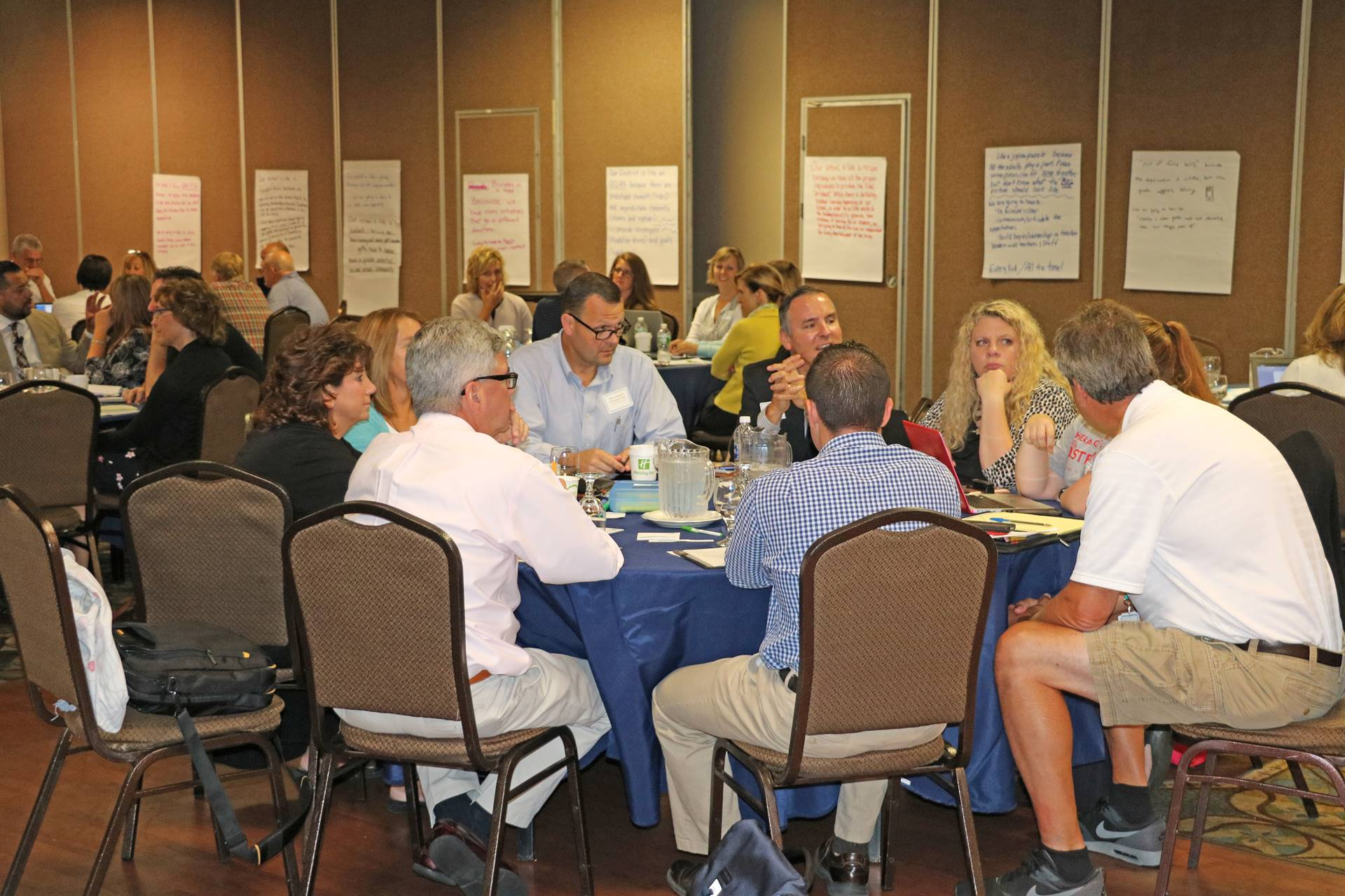 Principals' Academy Participants Round Table Discussion