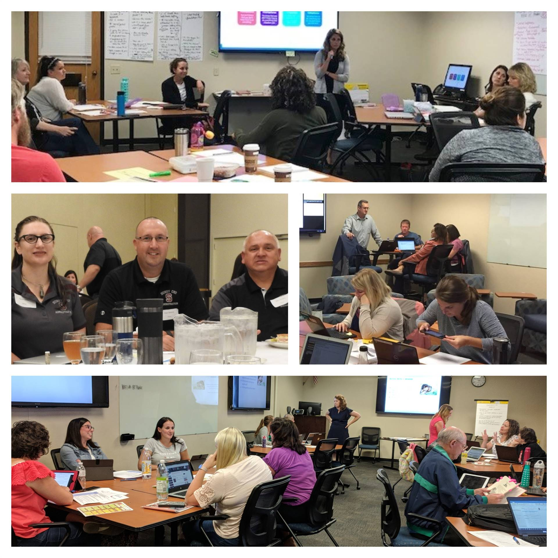 PD&RC Professional Development Participants Aug-Sept 2018