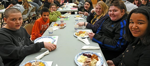 PALS Thanksgiving luncheon is a festive feast