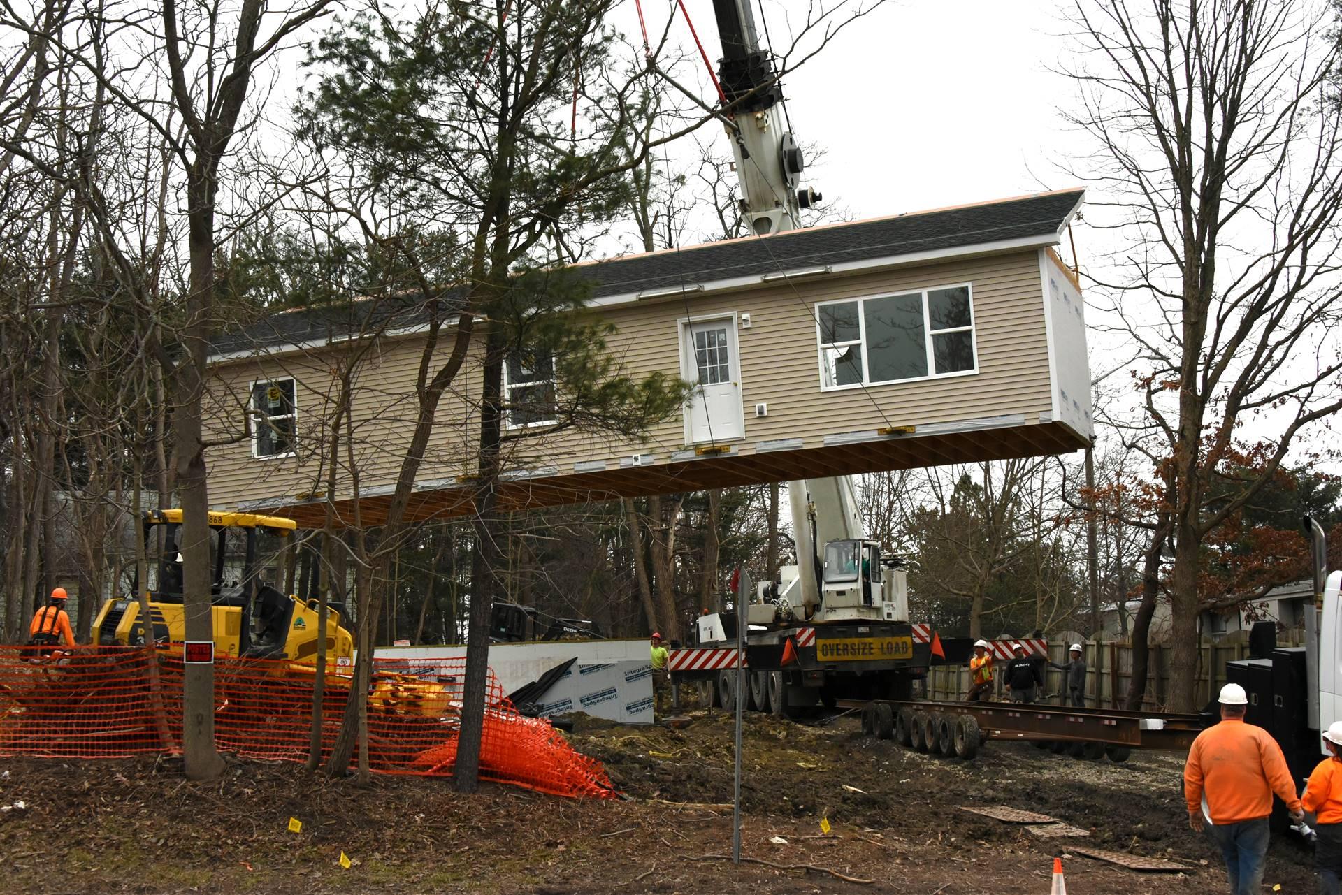 Habitat house move
