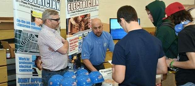 Hundreds of students attend annual career information fair at BOCES