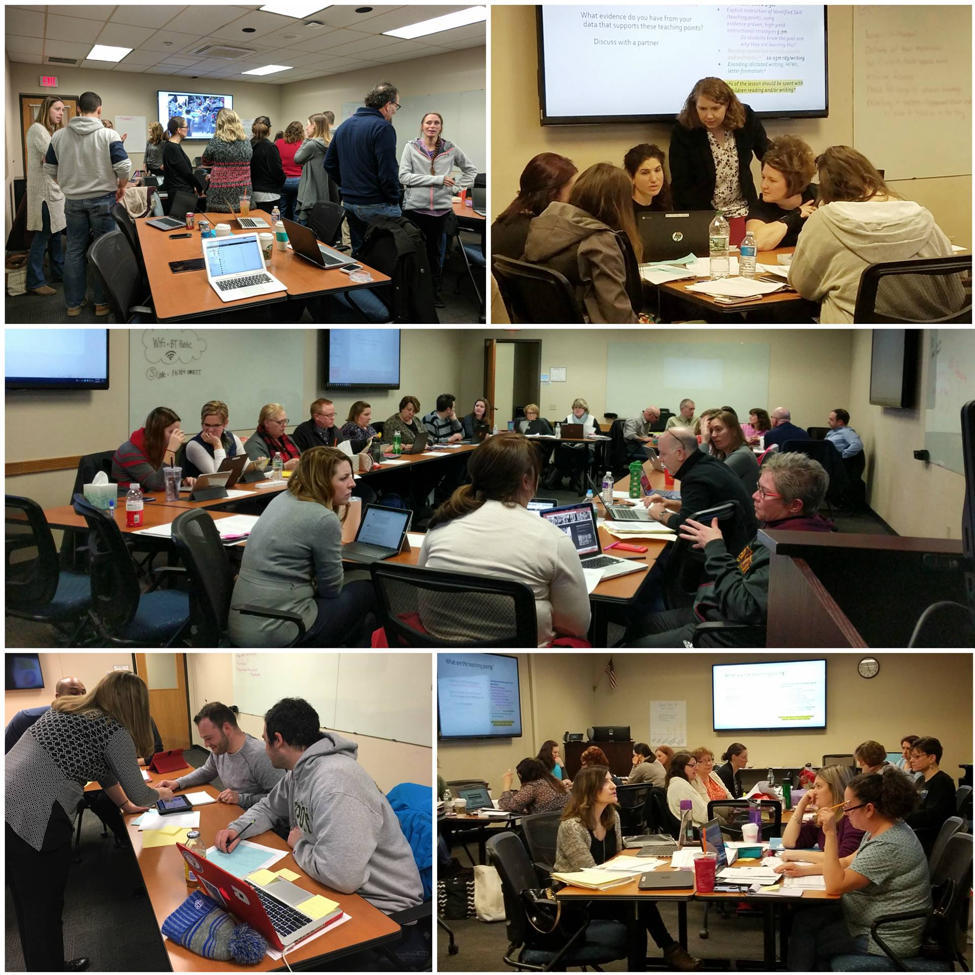 February 2018 Regional Professional Development in Action