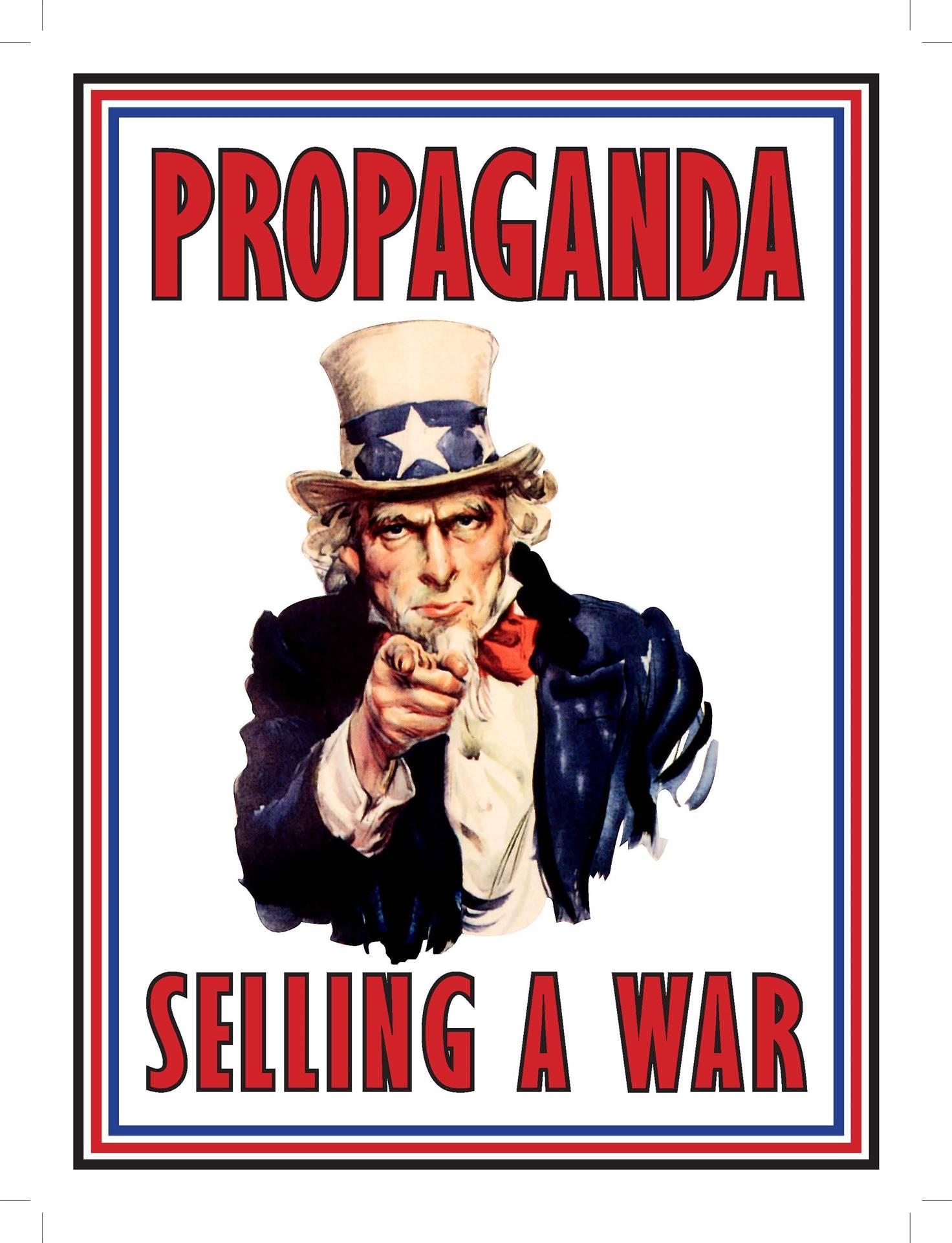 Propaganda-Selling a War Flyer