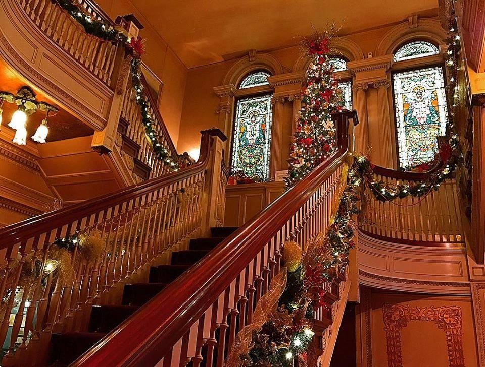 Holidays at the Mansion