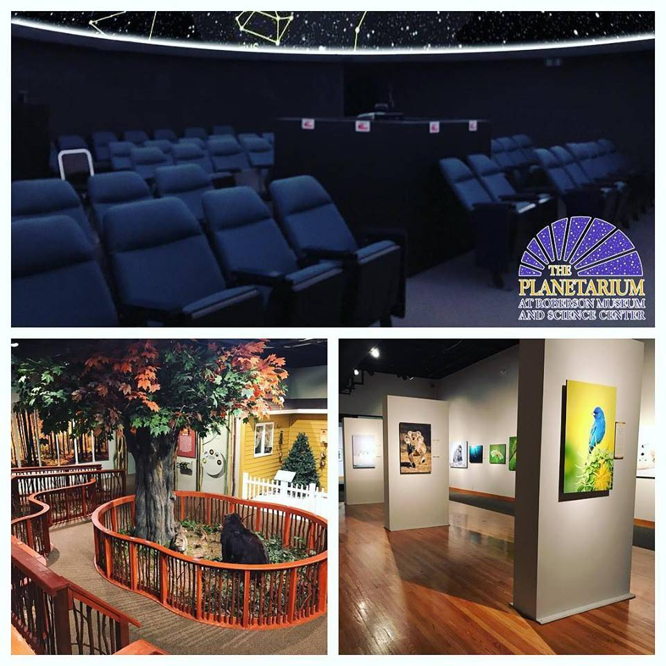 Planetarium & Exhibits