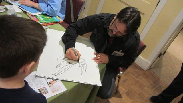 Ralph sketching