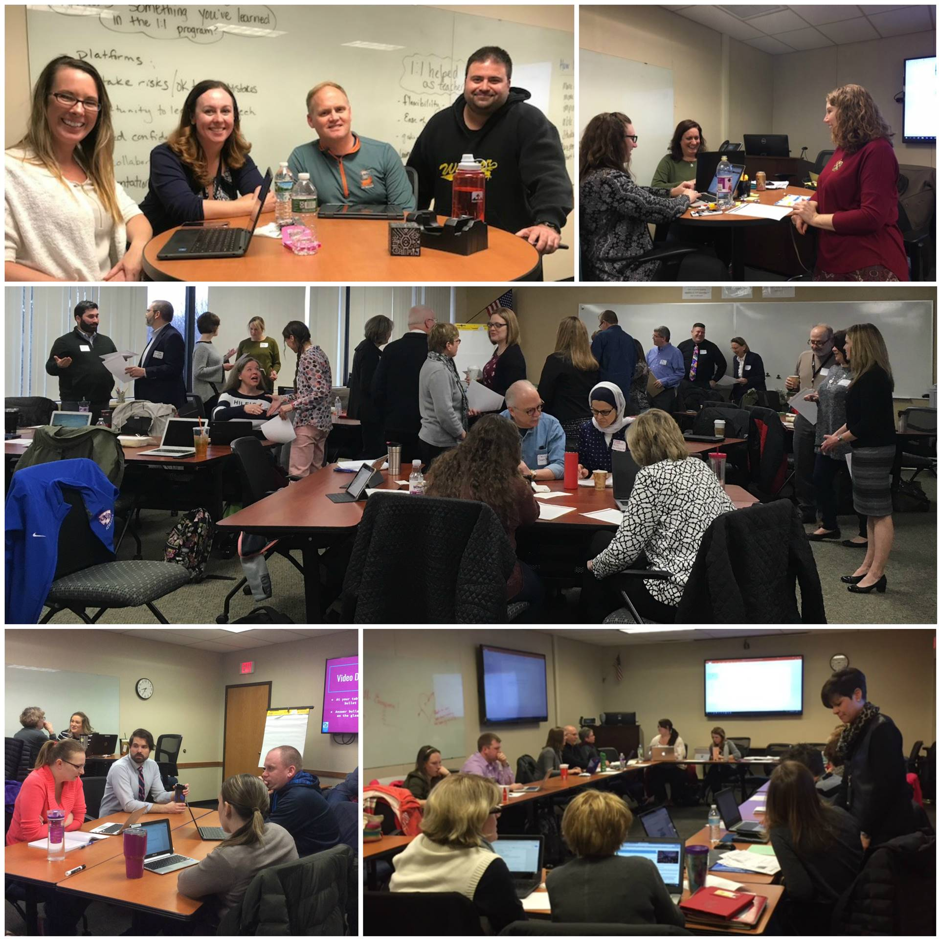 March 2018 Regional Professional Development in Action