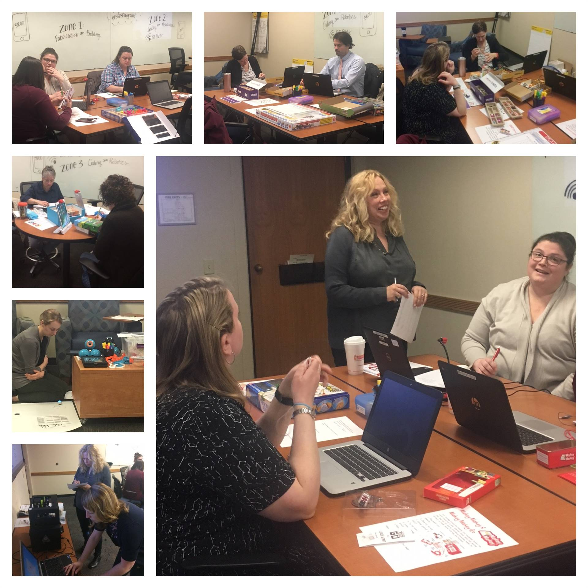 Media Library Resources STEM Professional Development Participants