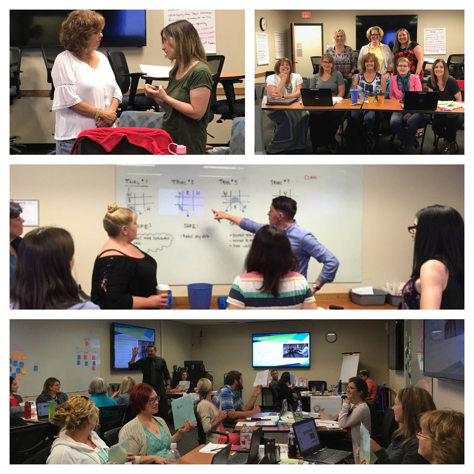 July 2018 PD&RC Professional Development Participants