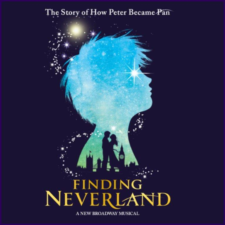 Anderson Center's Finding Neverland poster