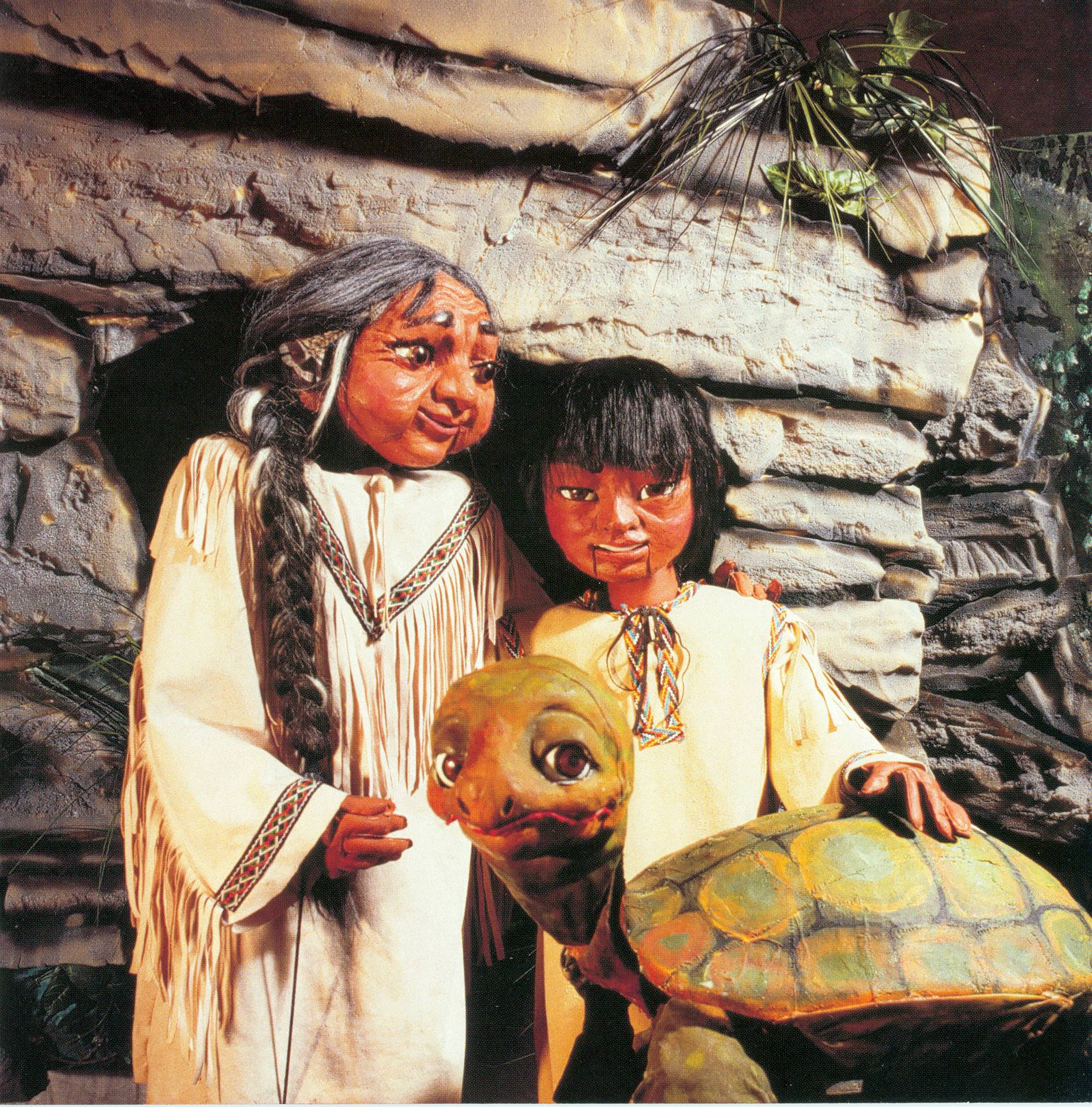 Hiawatha Puppets