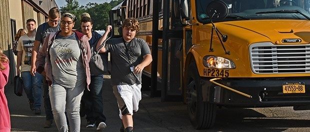 Refreshed and ready to learn, students march back to school