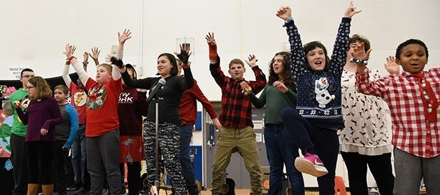 The annual PALS / Oak Tree Holiday Music Concert was a big hit with family and friends