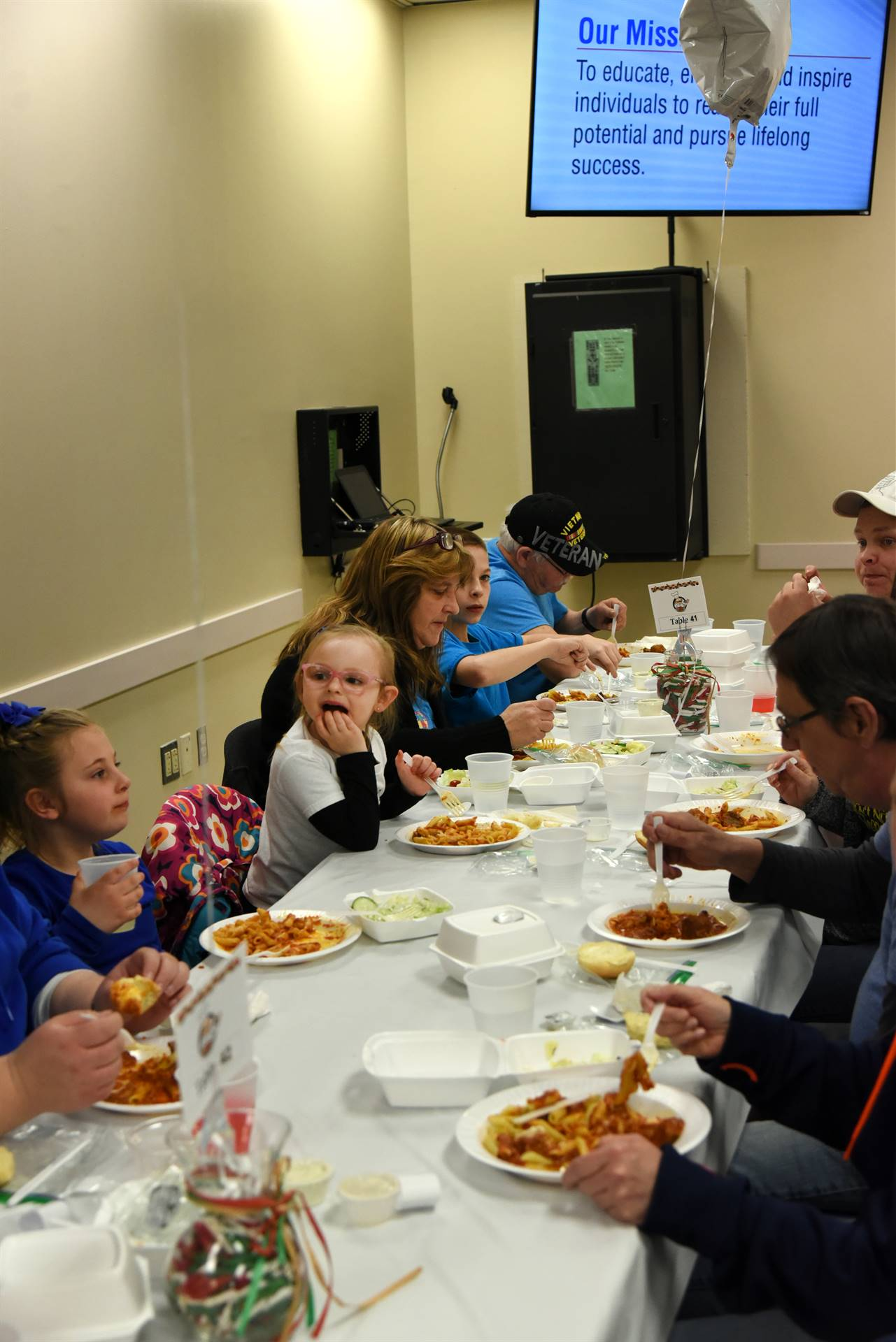 Oak Tree Celebrity Pasta Dinner 2019