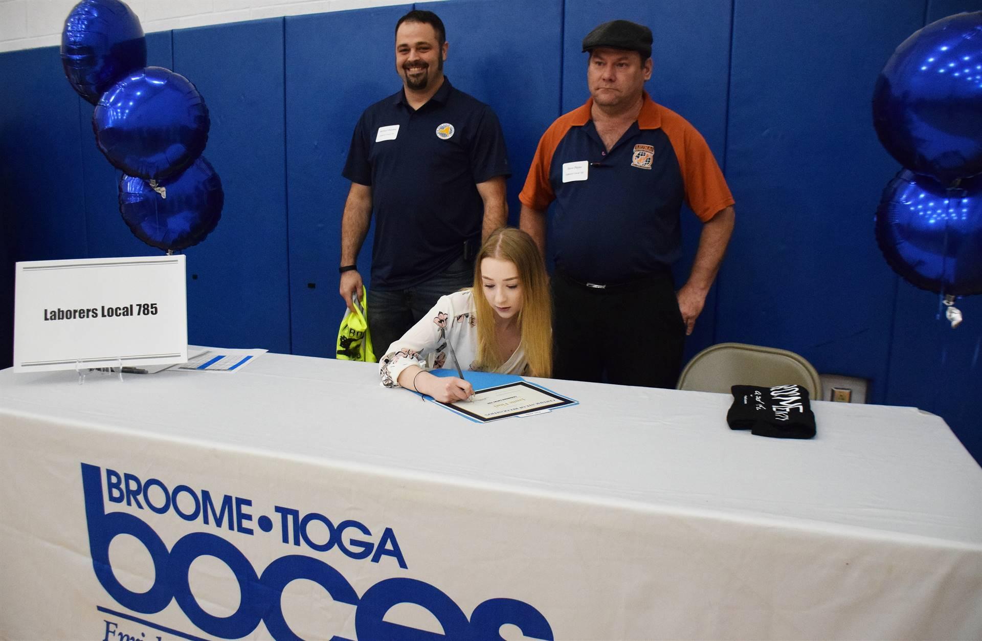 Career Signing Day photos