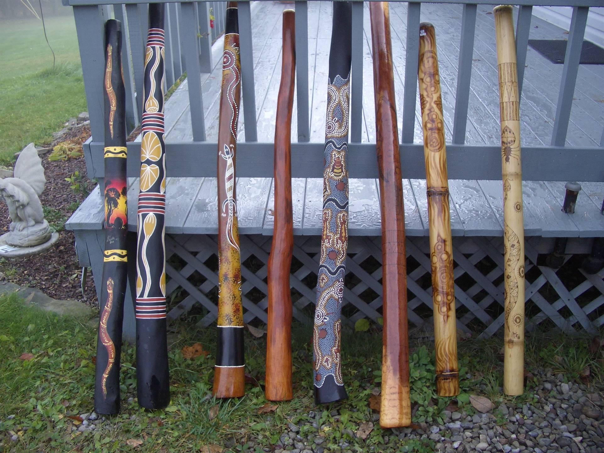 Chris Weber's Digeridoos