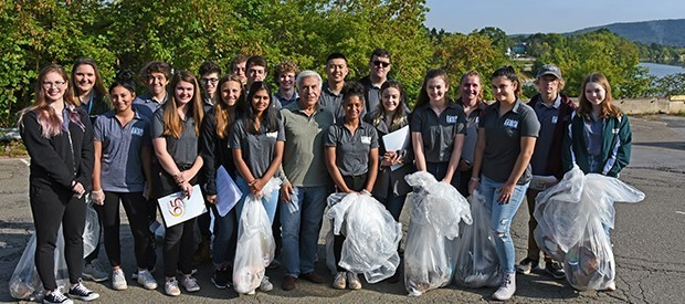 New Visions students gather trash, data to help fight pollution