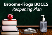 BT BOCES reopening Plan desk picture