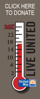 United Way Pledge thermometer