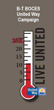 United Way Thermometer graphic